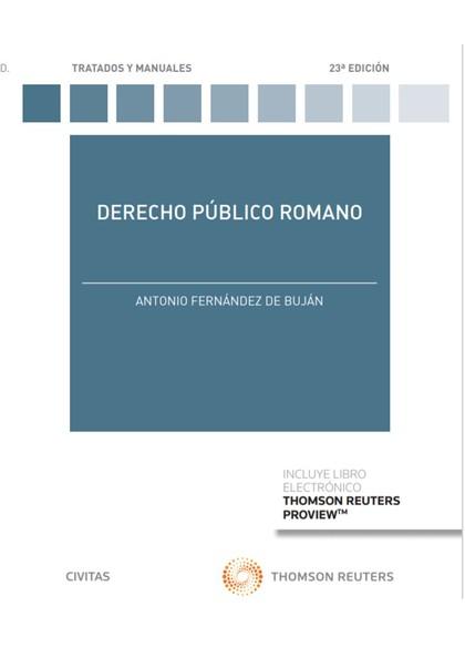 DERECHO PÚBLICO ROMANO.