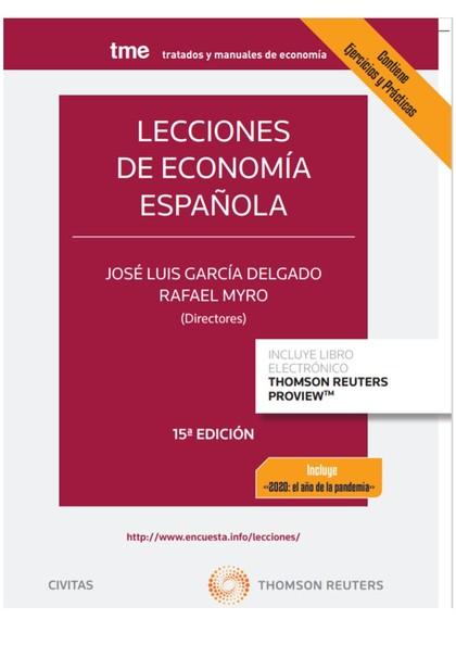 LECCIONES DE ECONOMÍA ESPAÑOLA.