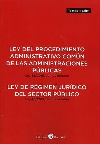 LEY DEL PROCEDIMIENTO ADMINISTRATIVO COMÚN DE LAS.