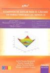 EMC2 ELEMENTOS DE MATLAB PARA EL CALCULO EN VARIAS VARIABLE