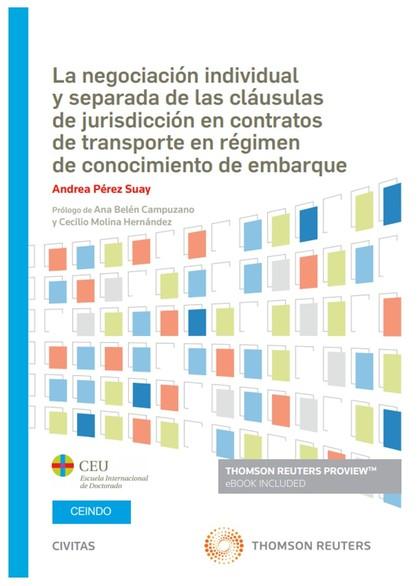 NEGOCIACION INDIVIDUAL Y SEPARADA DE CLAUSULAS DE JURISDICC.