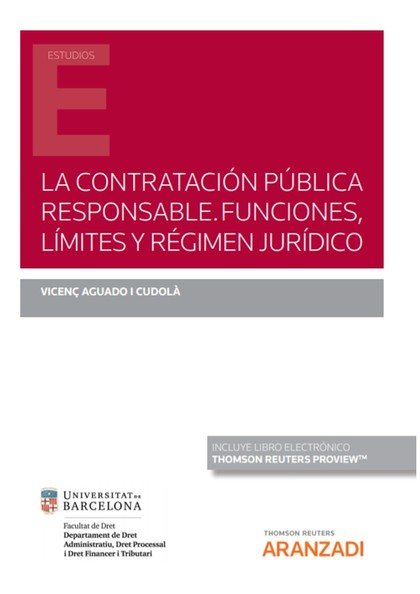 CONTRATACION PUBLICA RESPONSABLE FUNCIONES LIMITES Y REGIME