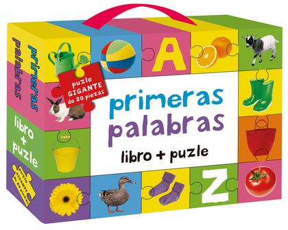 PRIMERAS PALABRAS: LIBRO + PUZLE.