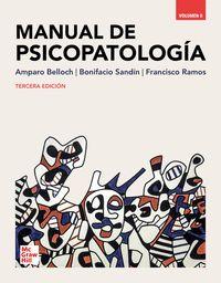 MANUAL DE PSICOPATOLOGÍA. VOLUMEN II. 3ª EDICIÓN.