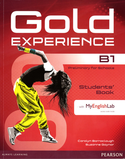 GOLD EXPERIENCE B1 STUDENTS´ BOOK WITH DVD-ROM/MYLAB PACK