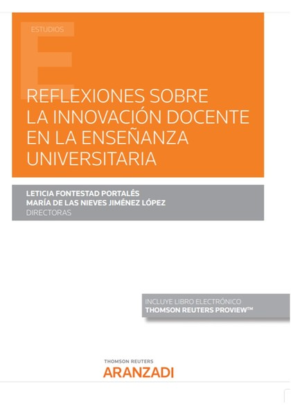 REFLEXIONES SOBRE LA INNOVACIÓN DOCENTE EN LA ENSEÑANZA UNIVERSITARIA (PAPEL + E.