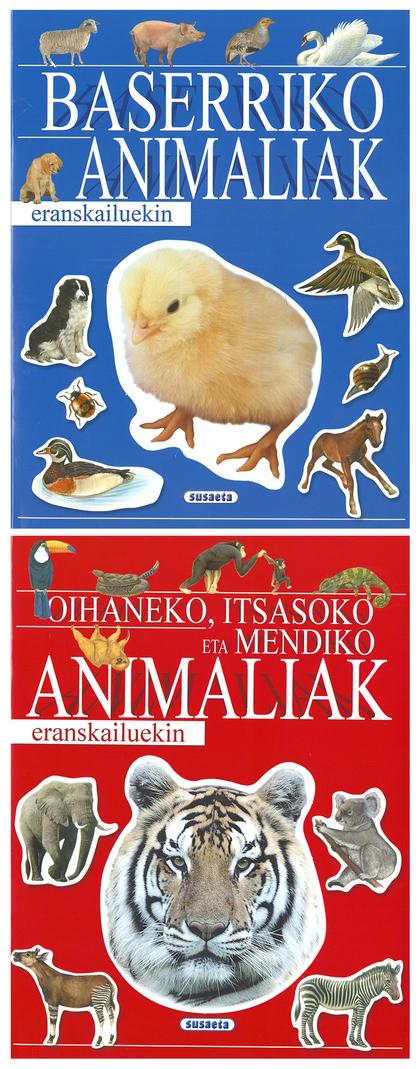 ANIMALIAK ERANSKAILUEKIN (2 TITULU)