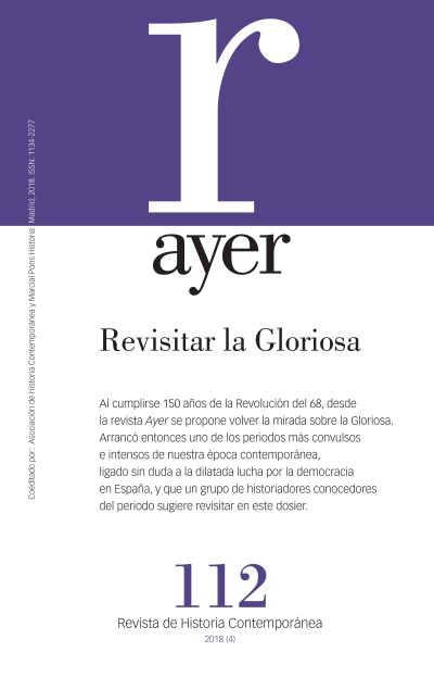 REVISITAR LA GLORIOSA                                                           AYER 112