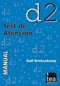 D2, TEST DE ATENCIÓN.JC 2A3400