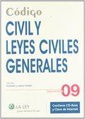 CÓDIGO CIVIL Y LEYES CIVILES GENERALES. SEPTIEMBRE 2009