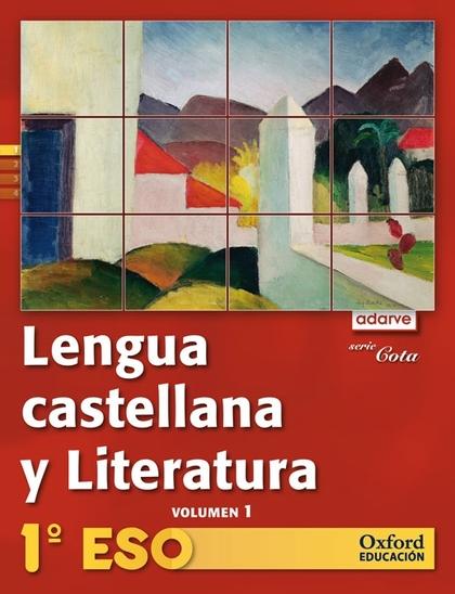 PROYECTO ADARVE, COTA, LENGUA Y LITERATURA, 1 ESO