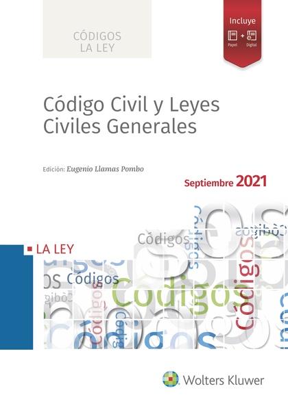 CÓDIGO CIVIL Y LEYES CIVILES GENERALES 2021.