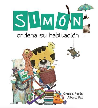 SIMÓN ORDENA SU HABITACIÓN.