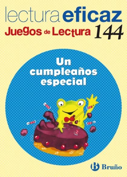 UN CUMPLEAÑOS ESPECIAL, EDUCACIÓN PRIMARIA, 1 CICLO. JUEGO DE LECTURA
