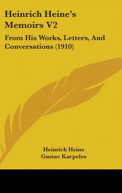 HEINRICH HEINE´S MEMOIRS V2