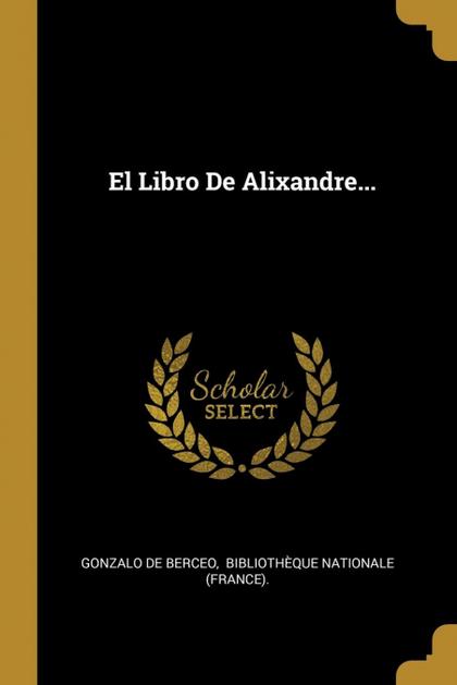 EL LIBRO DE ALIXANDRE...