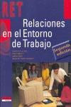 RELACIONES EN EL ENTORNO DE TRABAJO, FORMACIÓN PROFESIONAL
