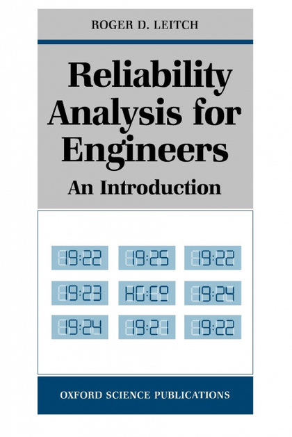RELIABILITY ANALYSIS FOR ENGINEERS