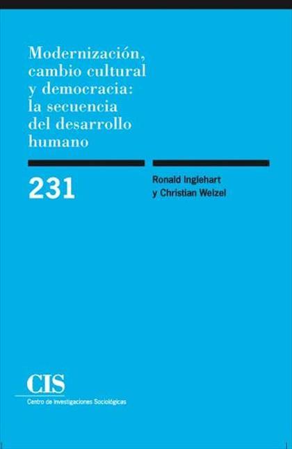 Modernización, cambio cultural y democracia: la secuencia del desarrollo humano
