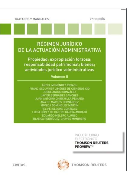 RÉGIMEN JURÍDICO DE LA ACTUACIÓN ADMINISTRATIVA.