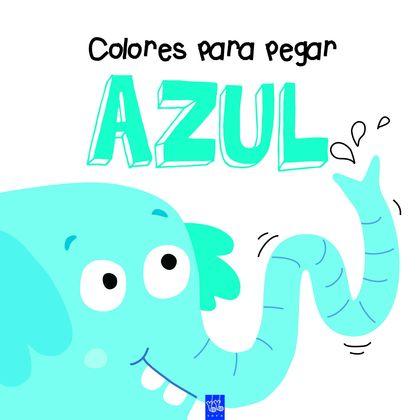 COLORES PARA PEGAR. AZUL.
