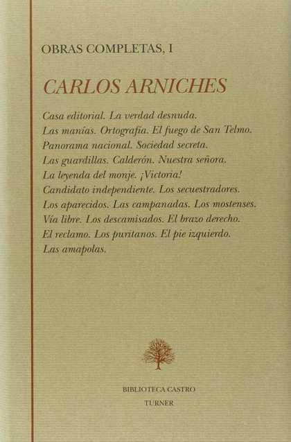 OBRAS COMPLETAS I CARLOS ARNICHES