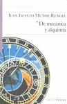 DE MECÁNICA Y ALQUIMIA.