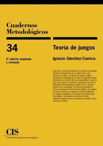 TEORÍA DE JUEGOS