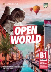 OPEN WORLD PRELIMINARY.  STUDENT'S BOOK WITHOUT ANSWERS WITH ONLINE PRACTICE