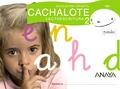CACHALOTE, LECTOESCRITURA, EDUCACIÓN INFANTIL, 4 AÑOS. CUADERNO 2 (PAUTA)