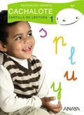 CACHALOTE, EDUCACIÓN INFANTIL, 4 AÑOS. CARTILLA DE LECTURA 1