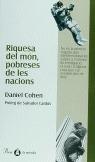 RIQUESA DEL MÓN, POBRESES DE LES NACIONS