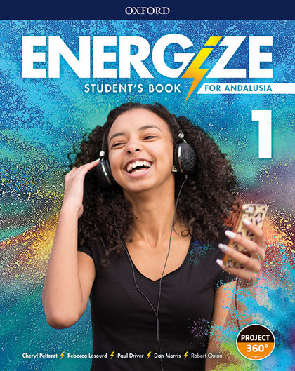 ENERGIZE 1. STUDENT´S BOOK. ANDALUSIAN EDITION.