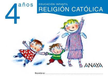 CACHALOTE, RELIGIÓN CATÓLICA, EDUCACIÓN INFANTIL, 4 AÑOS
