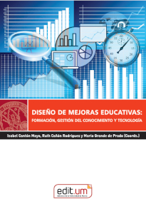 DISEÑO DE MEJORAS EDUCATIVAS                                                    FORMACIÓN, GEST