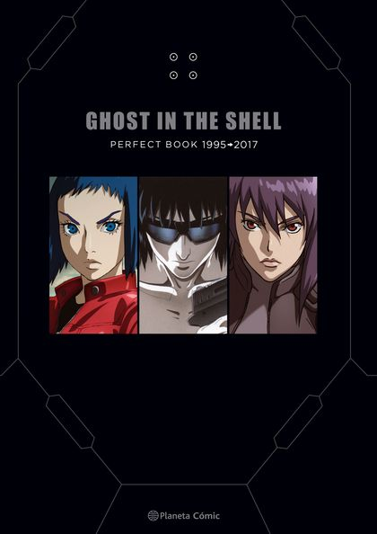 GHOST IN THE SHELL PERFECT BOOK.