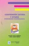 COMPRENSIÓN LECTORA Y ESTUDIO: INTERVENCIÓN PSICOPEDAGÓGICA