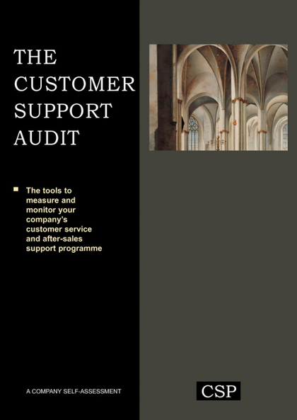 THE CUSTOMER SUPPORT AUDIT