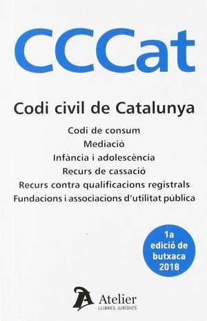 CODI CIVIL DE CATALUNYA. 1A EDICIÓ BUTXACA..
