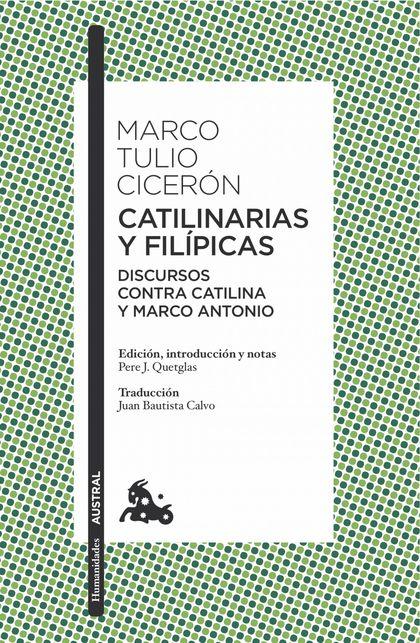 CATILINARIAS Y FILÍPICAS.