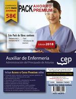 AUXILIAR DE ENFERMERIA PRINCIPADO DE ASTURIAS PACK PREMIUM.