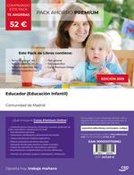 PACK AHORRO PREMIUM EDUCADOR EDUCACION INFANTIL MADRID.