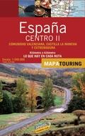 MAPA DE CARRETERAS CENTRO II, E 1:340.000