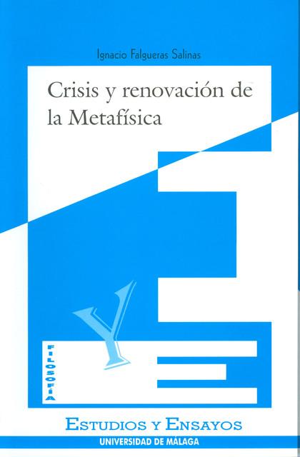 CRISIS Y RENOVACION METAFISICA