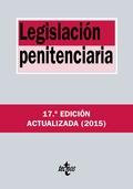 LEGISLACIÓN PENITENCIARIA.