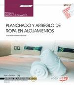 MANUAL PLANCHADO Y ARREGLO DE ROPA EN ALOJAMIENTOS.