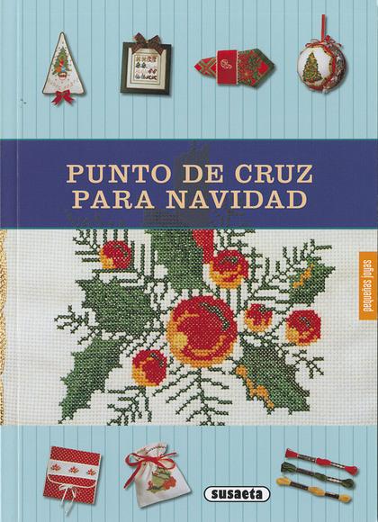 PUNTO DE CRUZ PARA NAVIDAD.