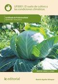 El suelo de cultivo y las condiciones climáticas. AGAF0108