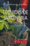 TÉCNICAS DE JARDINERÍA