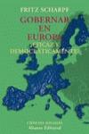 Gobernar en Europa